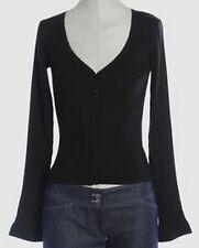 EMPORIO ARMANI silk cardigan sweater jumper pull maglia donna seta 44 S/M BNWT