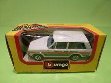 BBURAGO 4156 RANGE ROVER  TEAM CASTROL - WHITE 1:45 - GOOD IN BOX