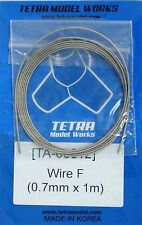 TETRA MODEL WORKS 1/35th Scale Braided Wire Size F 0.7mm x 1m Item TA12