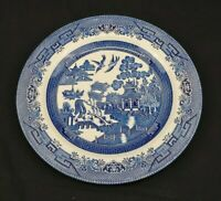 Churchill Fine English Tableware China Blue Willow Dinner Plate