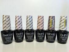 OPI Gel Color Kit Nail Lacquer UV PASTEL SOFT SHADES . Set of 6 Colors 0.5 oz