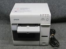 Epson ColorWorks / SecurColor C3400 TM-C3400 M242A Color Inkjet Label Printer