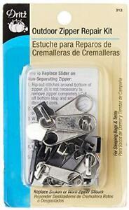 Dritz 313 Outdoor Zipper Repair Kit, Assorted