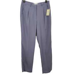 Nike Golf Pants Women's Size 14 Light Lavender Purple Sueded Pleated Pockets NWT