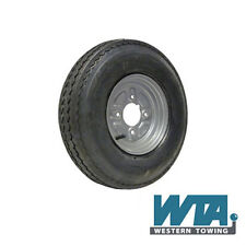 """Trailer Wheel & Tyre 400/480x8 4ply fitted on a 4 stud Rim with a 4"""" PCD"""