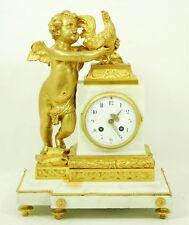 Unique Very Elegant Bronze Watch With Carrara Marble