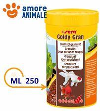 Sera Goldy  Gran  Mangime in Granuli per Pesci Rossi Acquario - 250 ml