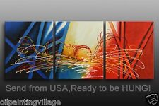 Original OIL PAINTING Canvas Art Decor Hand Painted Framed Ready For Hung