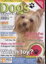 DOGS MONTHLY MAGAZINE - January 2009