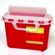 BD Sharps Guardian Container 5.4qt Product Number: 305517  Lot of 4