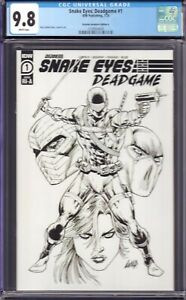 Snake Eyes: Deadgame #1 (IDW, 2020) CGC 9.8 Retailer Incentive Edition A