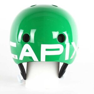 $130 Capix RARE Athlete GREEN Opener Mens Snowboard / Ski Helmet 56-60 cm L/XL
