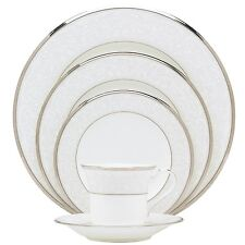Noritake Silver Palace 60Pc China Set, Service for 12