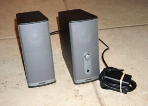Bose Companion 2 Series II Computer Speakers POWER SUPPLY RCA TO MINI CORD