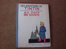 Tintin Au Pays Des Soviets edition limited to 400 copies - rare.
