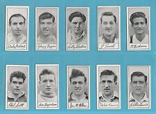 FOOTBALL - BARRATT - RARE SET OF 60 FAMOUS FOOTBALLERS SERIES A.4 CARDS  -  1956