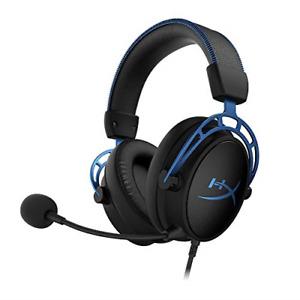 HyperX Cloud Alpha S - PC Gaming Headset, 7.1 Surround Sound, Adjustable Bass, -