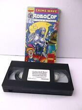 ROBOCOP CRIME WAVE VOLUME 2 VHS TESTED!