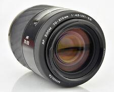 Minolta AF 70-210mm f/3.5-4.5 D AF Lens Sony Alpha Mount *