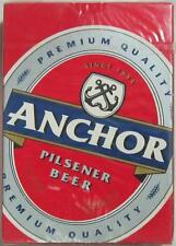 Anchor Pilsener Beer Playing Cards