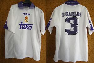 Maillot Vintage Real Madrid Taquy Teka Roberto Carlos Vintage jersey - M