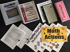 DATA DRIVEN BOARD MATH K-12 REGION 4 RESOURCES ACTIVITIES TEACHING EDUCATION EDU