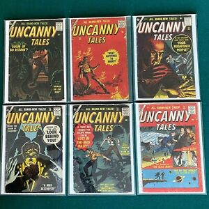 Atlas Marvel Silver Age Uncanny Tales Lot Of 6  #47 48  49  50  55  56  1956-58