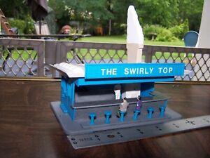 Swirly Top Ice Cream * O - S Scale Custom * Plasticville * American Flyer
