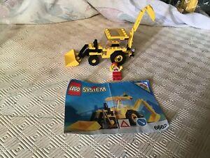 LEGO 6662 Pelleteuse - véhicule de chantier - avec notice de 1992