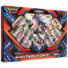 Shiny Tapu Koko Gx Collection Box Pokemon Tcg Cards Sealed Booster Packs