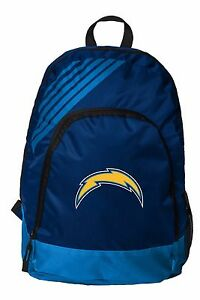 LA Los Angeles Chargers BackPack Back Pack Book Sports Gym Bag NEW Border Stripe