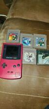 Nintendo Game Boy Color mit 5 Spielen