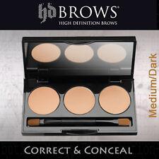 High Definition/HD Brows Blemish Makeup Concealer/Corrector Palette MEDIUM/DARK