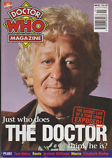 DOCTOR WHO MAGAZINE MAY 7, 1997 *JUST WHO DOES THE DOCTOR THINK HE IS*