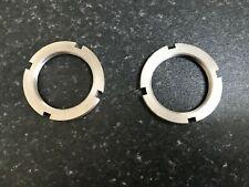 velocette LE front fork lock rings