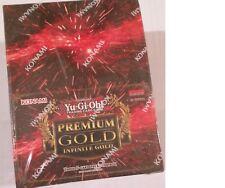 YU-GI-OH Premium Gold INFINITE GOLD Display Box Factory Sealed UK
