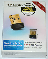 TP-Link TL-WN725N 150Mbps WiFi Wireless N Nano Micro USB Adapter Dongle B/G/N