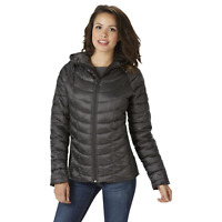 c30a67eb5 Women's Champion Featherweight Insulated Hooded Jacket Black XL #NKSEY-G18