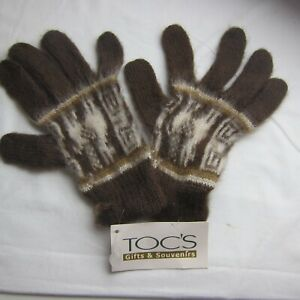 GORGEOUS Alpaca Knit Gloves NEW Tags  - BUY Any 5 Items = Free Post