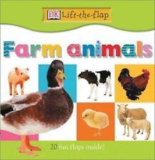 Farm Animals (DK Lift-the-Flap)-ExLibrary