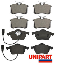 Audi - A4 / A6 2003-2009 Front & Rear Axle Brake Pads Set Top Quality Unipart