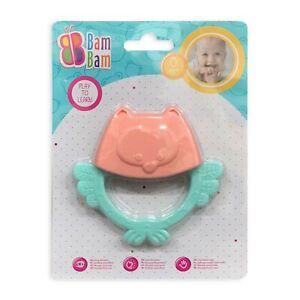 Giocattolo creativo per bambini neonato BamBam gufo sonaglio 2880
