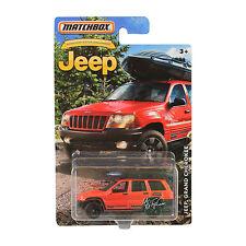 NEW Matchbox Anniversary Edition Red JEEP Grand Cherokee 1:64 Diecast Car RARE