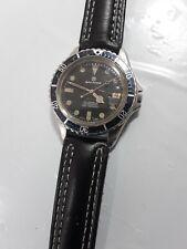 SANDOZ Diver's watch 1800 D-77-2 automatic Swiss Made ETA 2824-2  vintage used