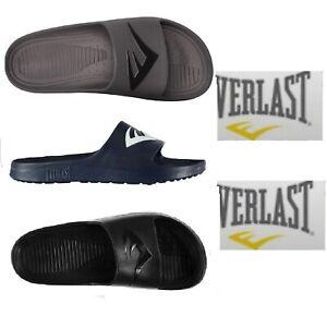 Everlast Mens Pool Shoes Boys Womens Flip Flops Beach Shower Sandals Size UK3-14
