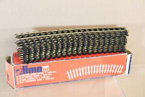 LIMA 6811 O GAUGE 12 x 1400MM DIAMETER CURVE TRACK BOXED nz