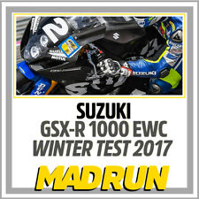 Kit Adesivi Suzuki GSX-R 1000 Team SERT EWC 2017 Winter Test - Light Version