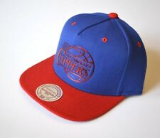 LA CLIPPERS Los Angeles NBA Basketball Cap Snapback Size Adult Wool Blue  Red M N 22c3c9d55120