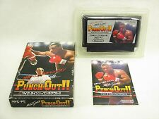 PUNCH OUT Mike Tyson's Item Ref/bcc Famicom Nintendo JAPAN Boxed Game fc