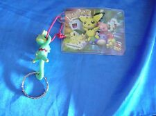 Pokemon plush , Kecleon keychain , Mewtwo hard card , 80 game trading cards